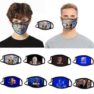kid black the usa fredom cartoon cross-border Biden mask dust-proof fashion 3D printed ice silk fabric can be washed to support custom vote