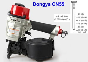 Dongya bobina clavadora CN55 pistolas de clavos de la bobina de alta calidad, clavadora industrial para palets que hace el arma de aire