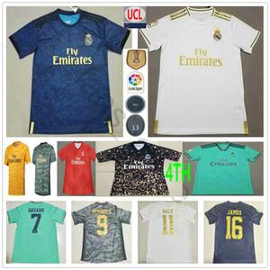 Camisa 2019 2020 Real Madrid Hombre fútbol jerseys PELIGRO MODRIC JOVIC RODRYGO VINICIUS JR BENZEMA SERGIO RAMOS personalizado Mujer Niños cuarto de Fútbol