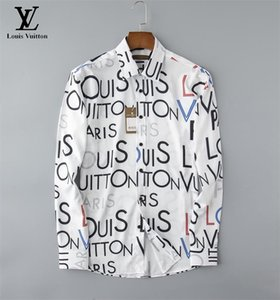 Camicia casual da uomo di marca da uomo manica lunga a righe slim fit camisa masculina social T-shirt da uomo nuova moda uomo camicia a quadri P09