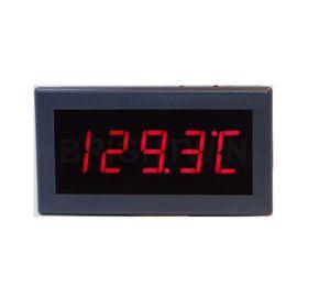 Panel montado termopar tipo K metro de la temperatura de alta precisión -200-1.372 la señal del sensor de termopar Cel Meter Display