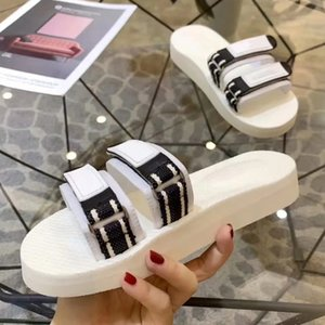 Slippers Sandals shoe Real leather Slides High Quality Slippers shoes For Woman Free DHL Eu:35-39 by shoe06 XNE1401