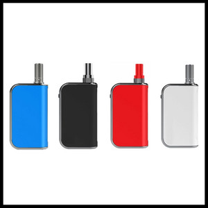 Komodo C5 Box Mod Built-in 400mAh Preheat VV Battery Vape Box Mod 1.0ml Liberty V1 Thick Oil Cartridge Tank