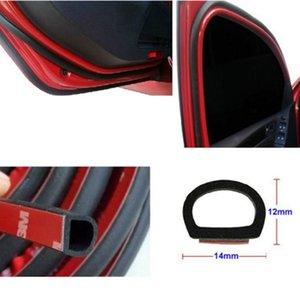 8 Meter Big D (14мм * 12мм) Тип 3M Car Motor Уплотнение двери Strip Уплотнитель резиновое уплотнение ЗВУКОИЗОЛЯЦИЯ WEATHERSTRIP Уплотнения Hollow