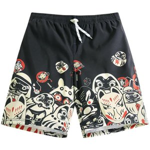 Surfaster Summer shorts beach shorts men swim swimwear Board Trunks Casual Solid Mid swimsuits bathing suits Quick Dry