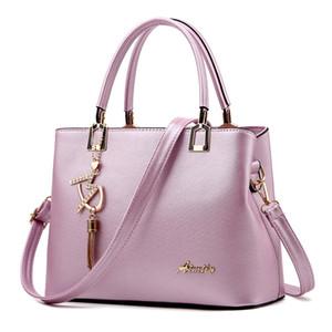 Tote Bags Designer borse borse del computer portatile per le donne Borsa Business Office lavoro di cuoio donne grande borsa di viaggio Shoulder Bag (viola)