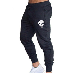 Cráneo pantalones jogging impresión Training Hombres pantalón o invierno Deportes Pantalones Pantalones Operando toma de posesión