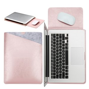 Case Pouch Notebook Mouse Pad for Xiaomi Macbook Air 12 13 Cover Retina Pro 13.3 15 15.6 Fashion Laptop Sleeve Leather Bag