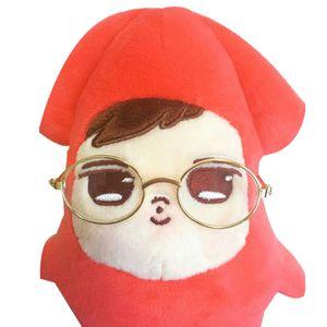 7.5cm glasses only,suitable for 15cm GOT7 doll dolls glasses bent spectacle frames spectacles rabbit doll eyeglasses