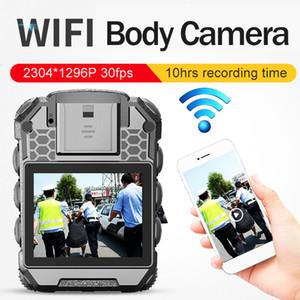 WIFI HD 1296P 40MP 10hrs طويل وقت التسجيل الشرطة CameraBody كاميرا حارس IP67 للماء البسيطة كاميرات الفيديو DVR مسجل