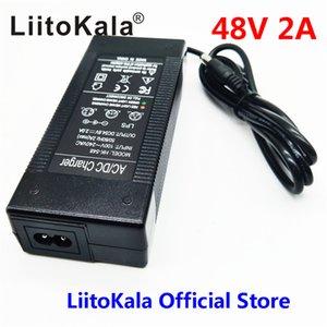 HK LiitoKala 48V 2A зарядное устройство 13S 18650 блока зарядного устройство 54.6v 2а постоянный ток постоянного давление полно самостоятельная остановка