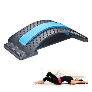 Voltar Massager Maca de Fitness Massagem Equipamento estiramento Relaxe Maca lombar Apoio Spine Pain Relief Chiropractic Dropship