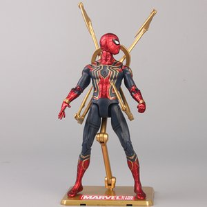 17cm New spiderman Infinity War Action Figure Collection Model Doll Toys Gift PVC Collection Model Toys ZL122