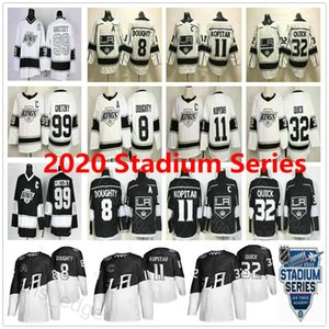 2020 Stadium Series Los Angeles Kings 8 Drew Doughty 11 Anze Kopitar 32 Jonathan Quick 99 Wayne Gretzky Men Woman Kids Ice Hockey Jerseys