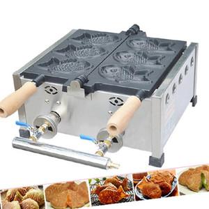 높은 품질 3 PC를 물고기 붕어빵 와플 메이커 LPG 선 가스 붕어빵 케이크 생선 와플 철 메이커 기계 베이커 금형