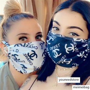 brang Luxury Designer Anti Dust Ultraviolet-proof Mouth-muffle Women Masks Protector Washable Sports Face Mask 7 Colors