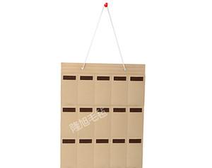 15 Pockets Hanging óculos de sol Organizador Felt Titular Tecido Khaki Cinza Brinco Colar de armazenamento atrás da porta jóias sacos Top Quality 10lx E19