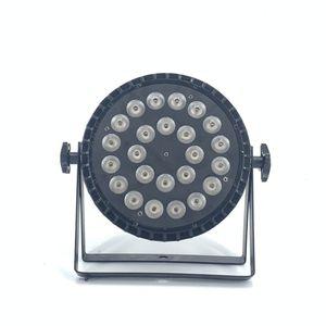 20 PZ Refletor LED 6in1 24x18W RGBWA UV LED Stage Luz para Professional Stage Lighting RGBW 4in1