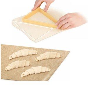 Pişirme Pasta Araçları Plastik Kruvasan Kesici Kalıp Rulo Kruvasan Yapma Makinası Ekmek Hattı Kalıp Hamur Levha Mutfak alet