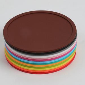 Silikon Coaster Non-Slip Setzer Runde Schalen-Auflage Hitzebeständige Silikon Placemats für Cafe Kitchen Restaurant HHA913