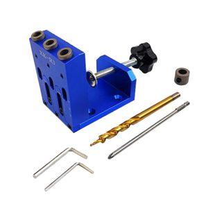 Hole Locator Jig Set Woodworking Oblique Jig Drilling Guide Puncher