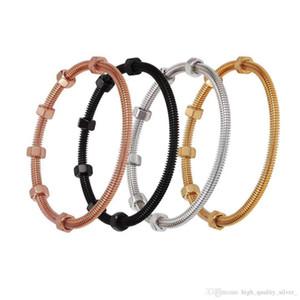 HYWo Screw Bracelet Men and Women Models High Quality Ladies Jewelry Fashion Bracelet Free Shipping