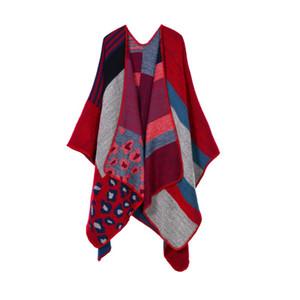 여성 고품질 패션 여성 럭셔리 모조 캐시미어 스카프 가을 겨울 국립 격자 무늬 랩의 경우 숄 130 * 155cm