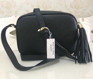 Alta calidad bolso de las mujeres Monedero bolsos bolsas Crossbody Bolsa Soho Disco del bolso de hombro del monedero del bolso con flecos