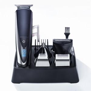 Professional Hair Clipper wiederaufladbare Elektrorasierer 5 in 1 Haartrimmer für Männer Haarschneidemaschine Bart Trimer