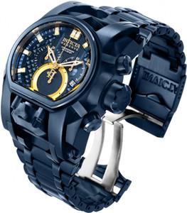 Reloj Invicta Reserva Perno Zeus hombres de la serie de 52 mm de acero inoxidable Modelo 28632 - Hombre Relojes suizos Cosc cuarzo para Dropshipping