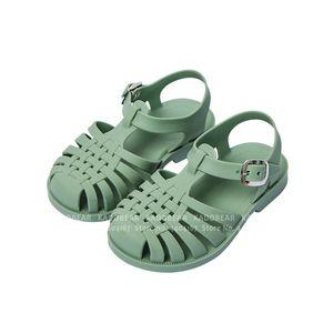 Kız Çocuk Karnavalı Parti Prenses Roman için Yaz Çocuk Barefoot Sandalet Kaymaz Yumuşak Baby Boy Açık Terlik Slaytlar T200703 Ayakkabı