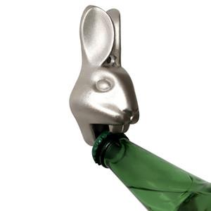 Кролик Глава бутылок цинковый сплав Настенный Пивные Открывашка с винтовым Kitchen Bar Tool Accessorie HHA1183