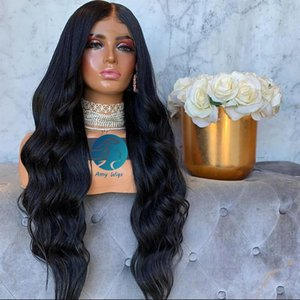 Pre plucked Glueless Bleached Knots 360 Lace Frontal Wig Peruvian 250 Density Body Wave For Black Women Remy Lace Front Human Hair Wigs