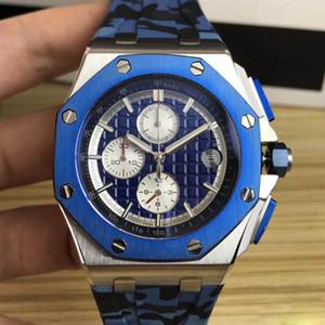 Последний самый продаваемый дизайнер роскоши королевский 6 контактный 25940 серии резиновые ремешок автоматические механические мужской скидка нержавеющей стали часы