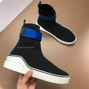 2019 moda Son Erkek Çorap Sneakers ile Mesh Üst Üçlü S Boots Yumuşak Kauçuk Hız Eğitmenler ile Erkekler için moda Kırmızı dipleri sneaker c