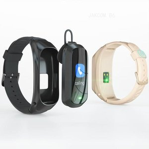 JAKCOM B6 Smart Call Watch New Product of Other Surveillance Products as smartphone suporte controle remoto mi band 3 pulseira