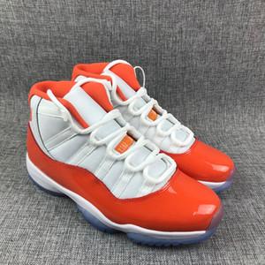 Hommes 11 11s Floride Chaussures de basket-ball de haute qualité XI Sport Blanc Rouge Chaussures de sport en plein air Randonnée Jogging Chaussures