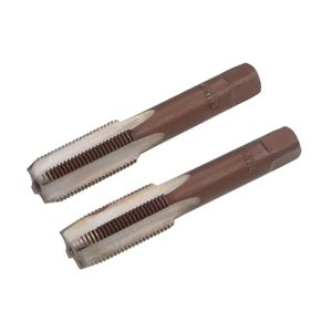 uxcell Metric Hand Tap M12 Thread 1 Pitch 4 Straight Flutes H2 Alloy Tool Steel 1 Pair