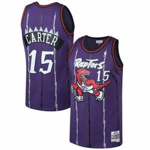 Cheap Men's TOR Vince Carter Mitchell & Ness Purple 1998-99 Jersey Top Basketball jerseys