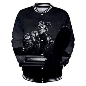 Juice wrld Mens giacca designer si slaccia più 3D Stampato abbigliamento informale Mens Hiphop cappotto del cardigan
