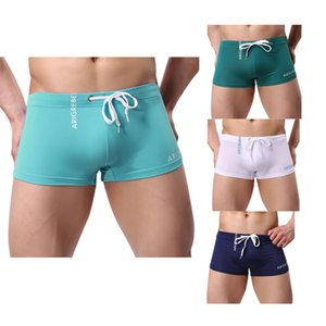 2020 New Arrivals Men's Boxer Briefs Swimming Swim Shorts Trunks Swimwear Pants swimsuit Sexy swimming trunks Men's Shorts #30