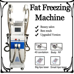 2019 Abnehmen Maschine Cryolipolysis Fettabsaugung 4 Griff Freeze-Cryolipolysis Lipo Cryo Kryotherapie Fat Gefriermaschine