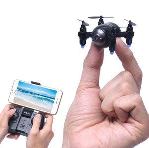 Modo de controle duplo display Mini RC Quadrotor WiFi FPV 3D 6 Axis Gyro remoto helicóptero de controle Mini RC robô vs H37