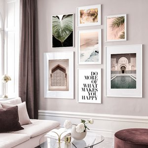 Landscape Canvas Painting Vacation Travel Wall Art Poster Nordic Print Photography Creative Picture Modern Home Room Decoration
