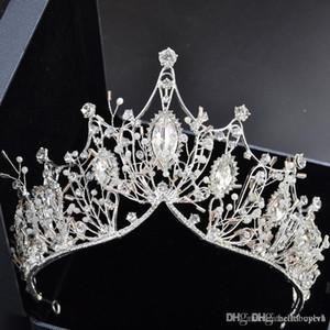 Neue Luxus Atmosphäre Braut Krone Kopfschmuck Stirnband Kopfschmuck Palace Crown Hochzeitskleid Zubehör