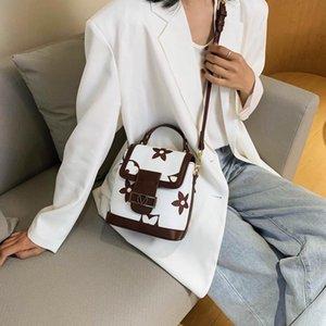 ventas calientes rosa Sugao diseñador mochila escolar de lujo mujeres de los bolsos de hombro bolsos nueva moda mochila mochila pequeña flor impresa BHP