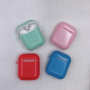 Slippy Anti-fallen Wasserdicht Airpods Fall für Apple Wireless Bluetooth Headset Sets von Protective Shell-Tropfen-Widerstandsmaterial