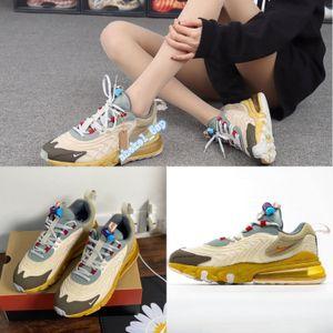 air Authentic Travis Scotts Max 270cc TS Cactus Trails React Men Women Running Shoes Sports Sneaker designer shoes