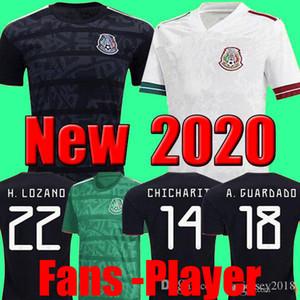 Copa do ouro 2019 Camisetas México 19 20 HOMENS CRIANÇAS camisa de futebol 2018 CHICHARITO LOZANO DOS SANTOS camisa de futebol de futebol