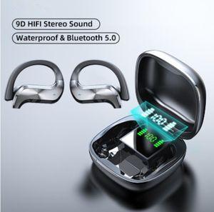 بلوتوث اللاسلكية سماعة الرياضة للماء سماعة رأس لاسلكية سماعات التحكم باللمس TWS سماعات الأذن سماعات مع ميكروفون